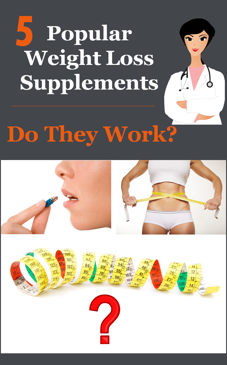 5 Popular Weight Loss Pills-Do They Work