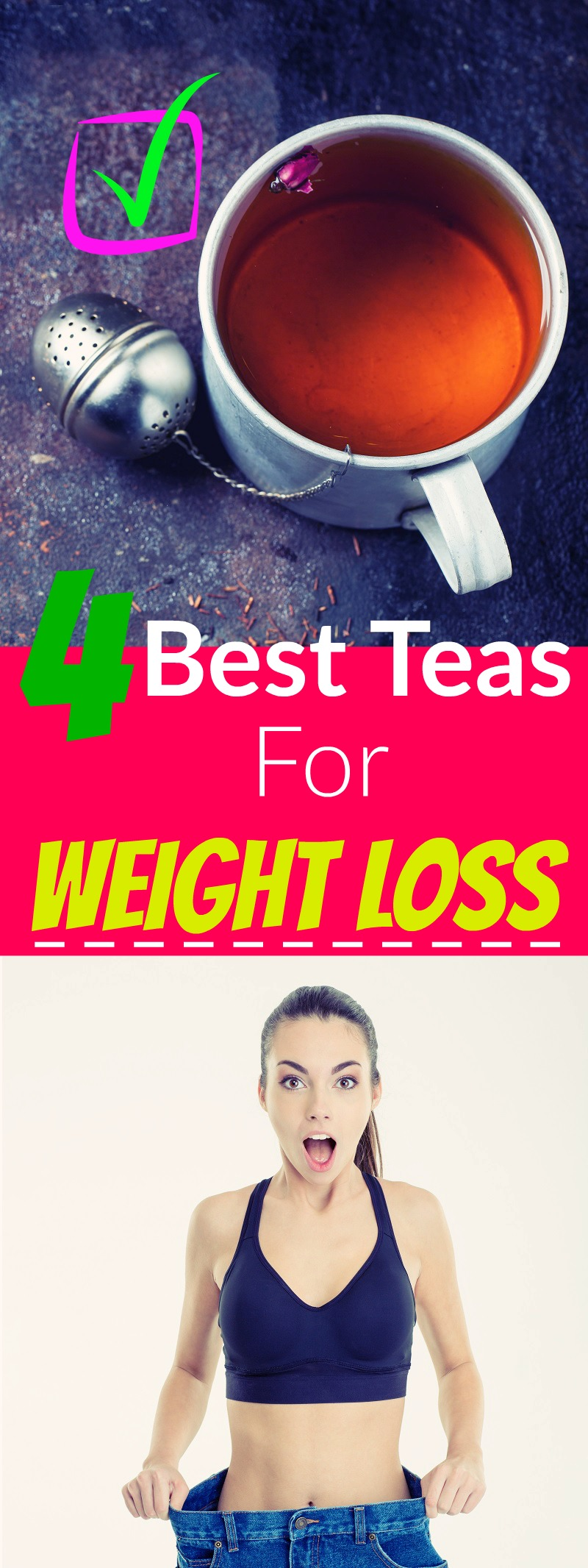 4 Best Teas For Weight Loss