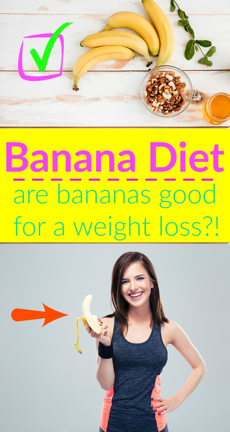 are bananas good for a weight loss