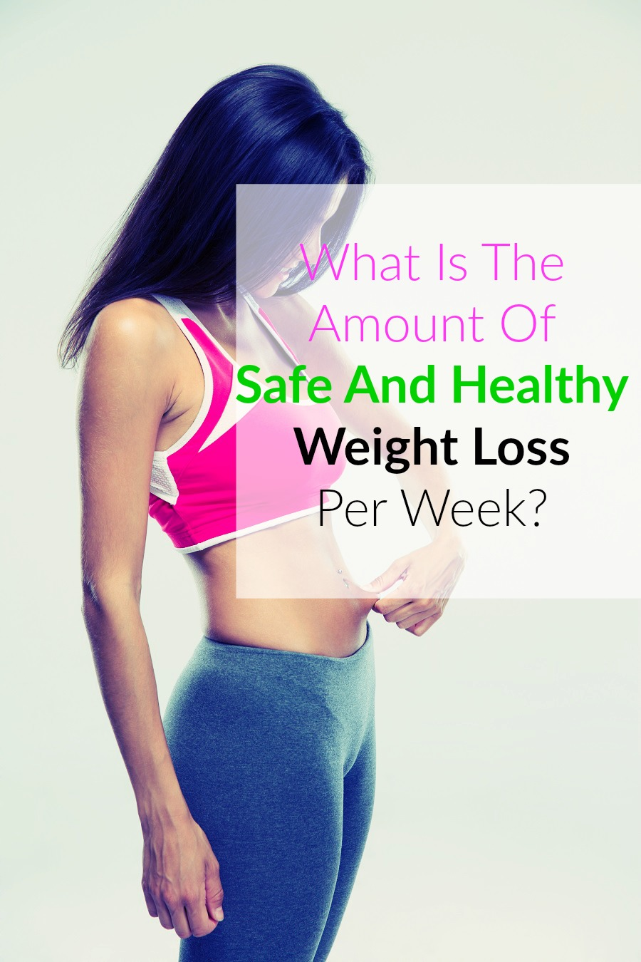 Safe And Healthy Weight Loss Per Week