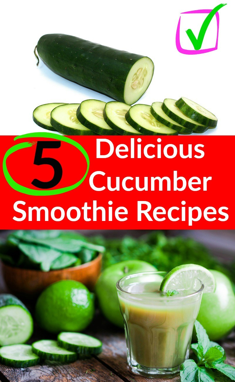 5 Delicious Cucumber Smoothie Recipes