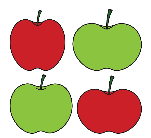 Green Apples vs Red Apples
