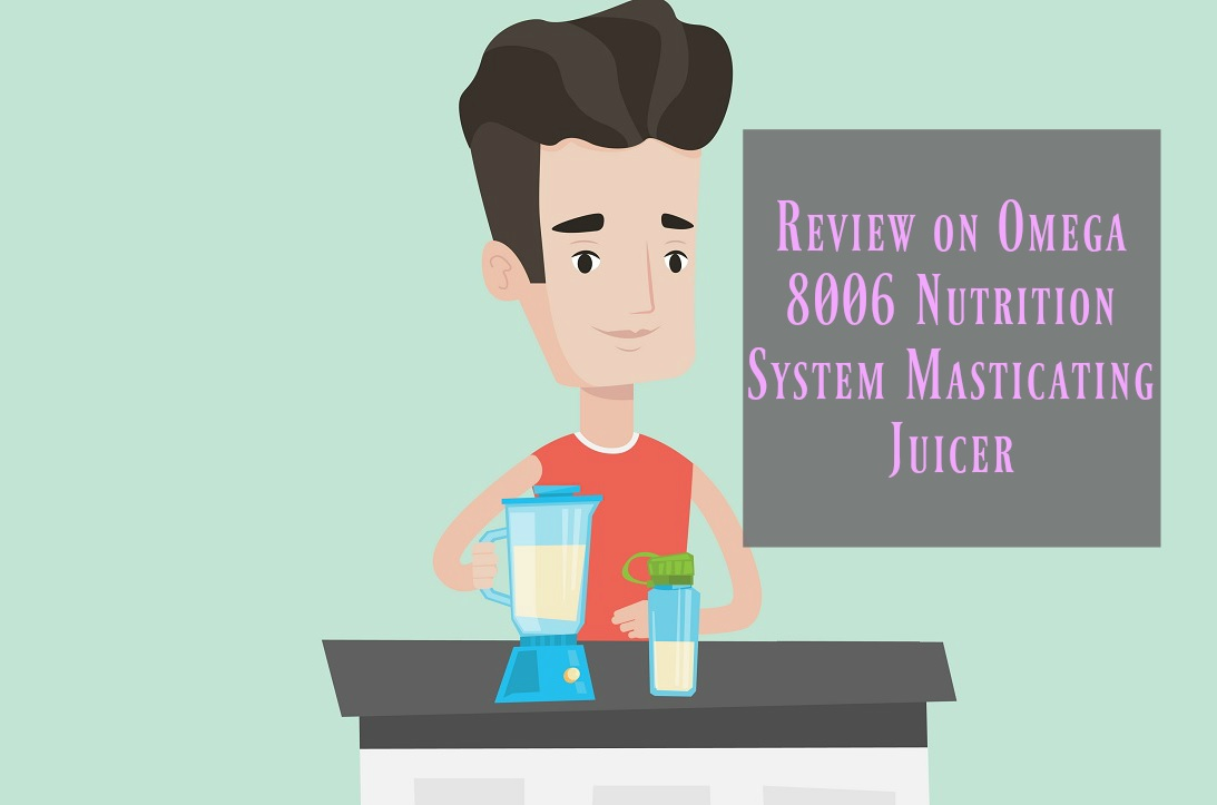 Omega 8006 Nutrition System Masticating Juicer