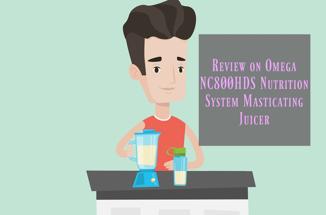 Omega NC800HDS Nutrition System Masticating Juicer