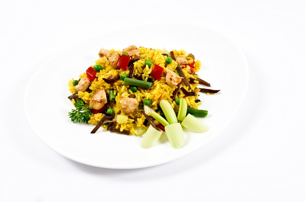 Barbecue Fried Rice
